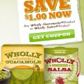 wholly 120x120 - Coupon rabais à imprimer de 1$ sur les produits Wholly Guacamol ou Salsa