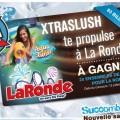 """xtraslush 120x120 - Concours """"Gâtez-vous"""" : gagnez 4 billets pour La Ronde!"""