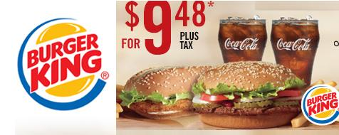BK Coupon - Nouveau coupon rabais à imprimer de Burger King!