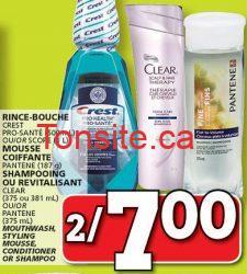 CLEAR - Produits Clear Therapy à 1.75$ après coupon!
