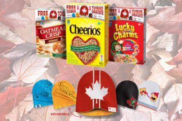 calotte canada - General Mills: 330 000 casquettes réversibles gratuites