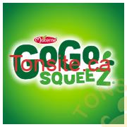 gogosqueez logo - Collation aux fruits GoGo Squeez (4x90g) à 1,50$ après coupon