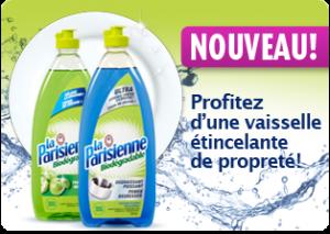 liquide vaiseille laparisienne 300x213 - Liquide à vaisselle La Parisienne 740 ml à 1$ après coupon!