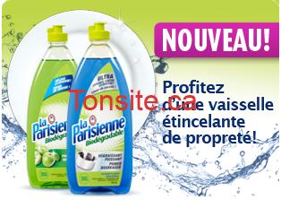 liquide vaiseille laparisienne - Liquide à vaisselle La Parisienne 740 ml à 1$ après coupon!