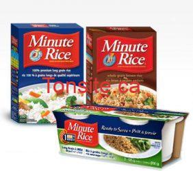 mince - Coupon rabais de 1,50$ sur une boite de riz Basmati ou Jasmin Minute