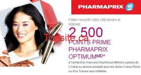 pharmaprix1 9 13 - Pharmaprix: calendrier 30 Jours de beauté (L'offre du jour 1 Septembre 2013)
