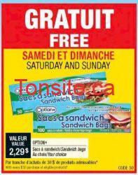sac sandwich - Recevez un sac à sandwich valeur de 2,29 sur chaque achat de 30$ chez Uniprix