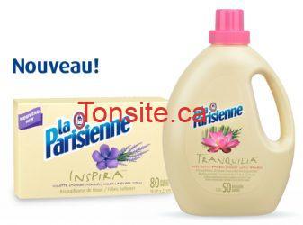 assoupliseur laparisienne - Assouplisseur La Parisienne en feuilles et en liquide à 2.74$ au lieu de 3,49$!