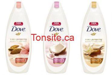 dove - Aubaine: Gel nettoyant Dove à 1$ après coupon!