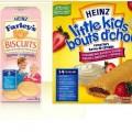 farleys little kids 120x120 - Collations Bouts D'chou ou biscuits Farley's de Heinz pour bébé à 97¢ après coupon!