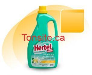 hertel - Les produits nettoyants Hertel à 1.49$ après coupon!