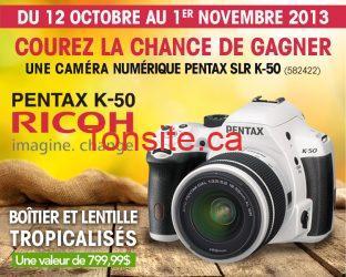 tanguay concours - Concours Ameublement Tanguay: Gagnez une caméra numérique Pentax!