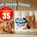 Tigertowel.png 120x120 - 6 rouleaux d'essuie-tout Royale Tiger à 1.44$ après coupon!
