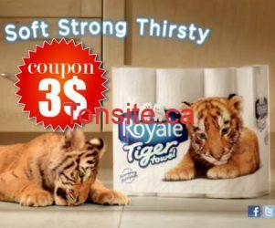 Coupons rabais tiger towel