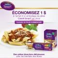 catelli1 120x120 - Coupon 1$ sur un emballage de pâtes Catelli Smart au choix!