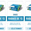 oikos danone 120x120 - 3 coupons rabais de 1$ sur Danone Oikos!