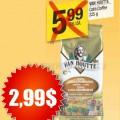 vanhoute2 99 120x120 - Café Van Houtte 225g à 2,99$ au lieu de 5,99$ après coupon!