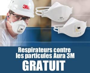 3M 1 300x245 - GRATUIT: Demandez des respirateurs contre les particules Aura 3M gratuitement!