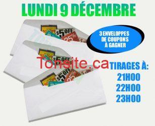 ENVELOPPE9 - Concours 20: Gagnez 1 de 3 enveloppes de coupons (valeur plus de 50$ ch)!