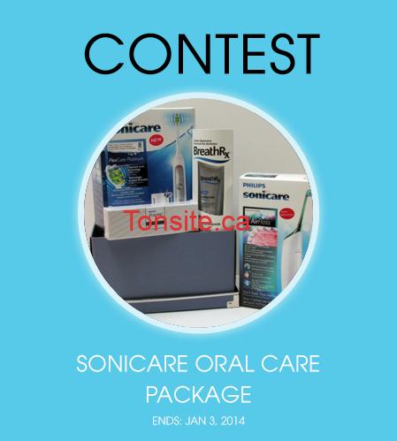 Sonicare1 - Gagnez un ensemble cadeau de soins bucco-dentaires Philipps Sonicare!