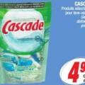 cascade aubaine 120x120 - Cascade pour lave-vaisselle à 3,49$ après coupon