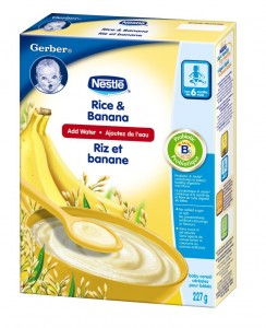 cereale gerber 244x300 - Céréales Gerber de Nestle à 1.97$ après coupon!