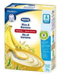 cereale gerber - Céréales Gerber de Nestle à 1.97$ après coupon!