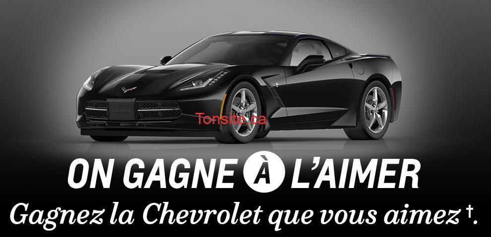 chevrolet fr - Concours General Motors Canada: Gagnez un véhicule Chevrolet, Buick, GMC ou Cadillac 2014!