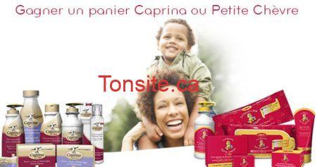 concours caprina - Concours Canus: Gagnez un panier des produits Caprina ou Petite Chèvre!