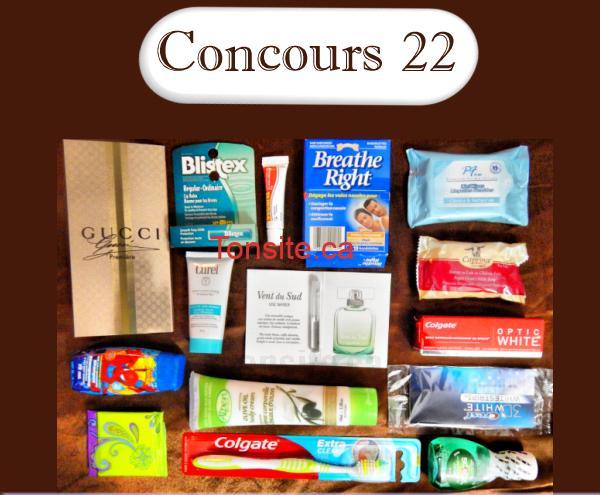 concours221 - Concours 22: Gagnez 15 échantillons ou une enveloppe de coupons d'une valeur de 50$!