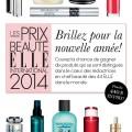 elle 120x120 - Concours Les Prix Beauté ELLE INTERNATIONAL 2014: Gagnez un ensemble cadeau (valeur+de 447$)!