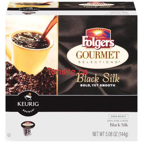folgers1 - Coupon rabais de 1,50$ sur une boîte de 12 ou 18 unités de portions K-Cup Folgers Gourmet Selections au choix!