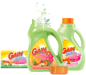 gain 300x263 - Détergent à lessive Gain à 1$!