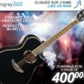 guitare stingray360 120x120 - Concours Stingray 360: Gagnez une guitare acoustique YAMAHA d'une valeur de 400$!