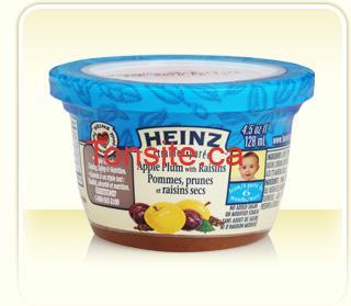 heinz pot - Pots de purée Heinz pour bébé à 46¢ après coupon imprimable !