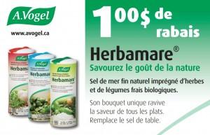 herbamare 300x193 - Coupon rabais de 1$ sur le sel de mer Herbamare!
