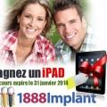 ipad implant1888 120x120 - Concours 1888implant: Gagner un ipad!