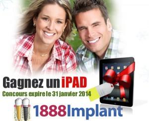 ipad implant1888 300x244 - Concours 1888implant: Gagner un ipad!
