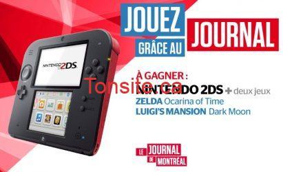 j m nintendo - Concours le journal de Montreal: Gagnez un NINTENDO 2DS + deux jeux!