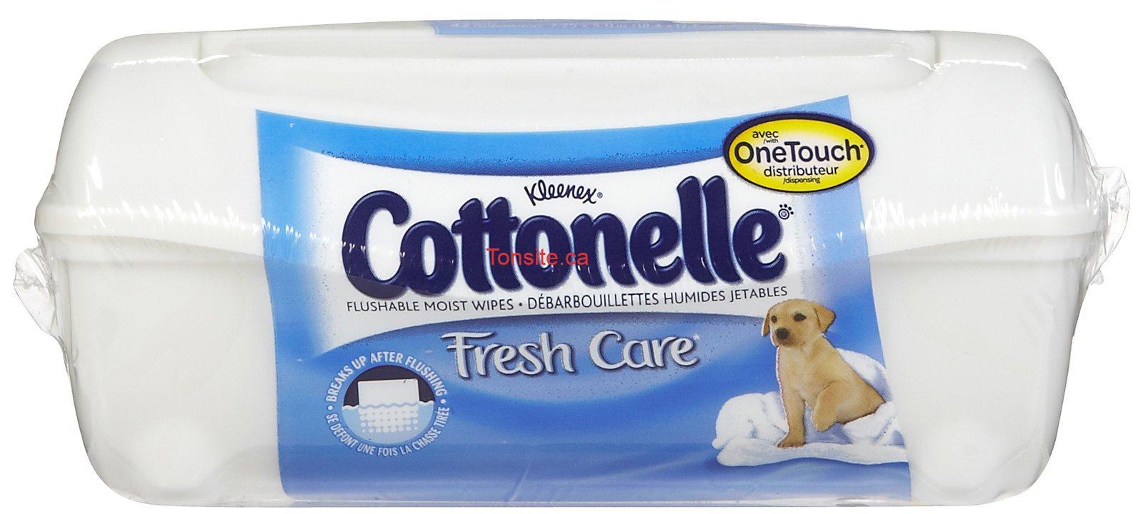 kc 347 1z - Débarbouillettes cottonelle à 99¢ après coupon!