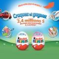 kinder 120x120 - Concours Kinder Canada: Gagnez une Fiat 500 POP 2014 et 2 voyages pour 4 personnes à Orlando ou 1 de 228853 prix instantanés!