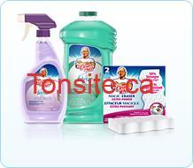 mrClean cleaning products - Nettoyant liquide ou effaceur magique(2) de  M. NET à 1.25$ apres coupon!