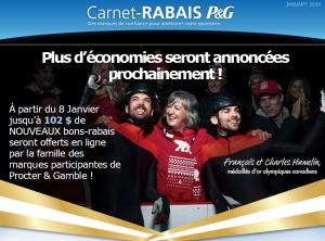 pg rabais janvier2014 300x222 - Nouveau Carnet-Rabais P&G de 102$ d'économies bientôt disponible!