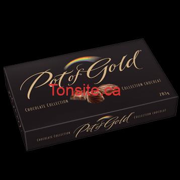 pot of gold - Boîte de chocolats Pot of Gold à 2,99$ après coupon!
