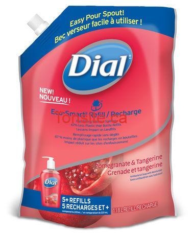 recharge dial - Recharges de savon Dial GRATUITES après coupon!