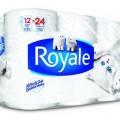 royale 120x120 - 12 rouleaux doubles de papier hygiénique Royale à 2,99$!