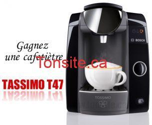 tassimo t47 - Concours CBC: Gagnez une cafetiètre Tassimo T47!