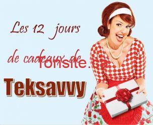 teksavvy - Concours Teksavvy: Les 12 jours de cadeaux!
