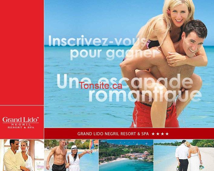 voyage jamaique - Concours Sunwing: Gagnez une escapade romantique pour deux personnes en Jamaïque!