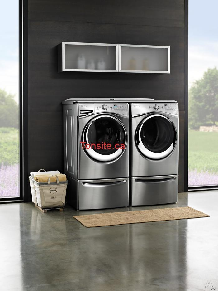 whriplool - Gagnez une laveuse et une sécheuse Whirlpool d'une valeur totale de 2998$!